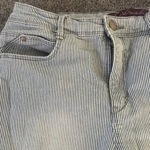 Vintage vertical striped pants
